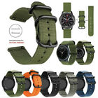 18-24mm Nylon Fabric Canvas Wrist Watch Band Strap Classic Buckle Quick Release image