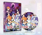 Date A Live Season 1 to 3 + 2 OVA + Movie Anime DVD Complete Collection Set