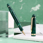 Filler Fountain Pen Camouflage Resin Writing Pens Smooth Extra Fine Nib Gift Box