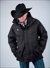 Wyoming Traders Men Black Waterproof w/ Puffer Lining Winter Coat Parka - 3 in 1