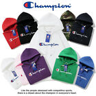 2020 New Women's Men's Classic Champion Hoodies Embroidered Hooded Sweatshirts