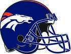DENVER BRONCOS HELMET Vinyl Decal / Sticker ** 5 Sizes ** on eBay