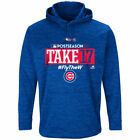Chicago Cubs 2017 Postseason Authentic Collection Fleece Pullover Hoodie on Ebay