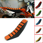 US STOCK Universal Gripper Soft Motorcycle Seat Cover Rib Skin Rubber Dirt Bike image