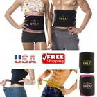 Men Women Waist Trimmer Belt Sweat Weight Loss Stomach Wrap Gym Tummy Fat Burner