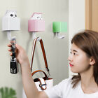 Cartoon Cat Key Hook Hanger Wall Mounted Clothes Sticky Hooks Holder Decorative