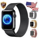 For Apple Watch Band 42mm 38mm 44mm 40mm Series 5/4/3/2/1 Stainless Steel Strap image