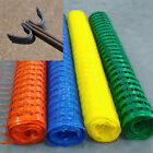 Heavy Duty  plastic barrier safety fence & metal fencing steel pins