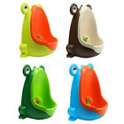Frog Boy Kids Children Baby Potty Urinal Pee Toilet Training Trainer Bathroom image