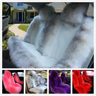 Long Wool Car Seat Cushion Real Sheepskin Fur Cover Winter soft Warm Chair Pad $264.42 CAD on eBay