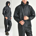 Men Work One-Piece Motorcycle Waterproof Raincoat Overalls Rain Suit 2019 $22.75 USD on eBay