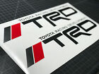 2 TRD Tacoma Tundra Sport Off Road Truck Toyota Decals Stickers Graphic Vinyl HQ on eBay