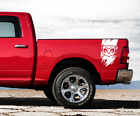 Dodge RAM 1500 2500 3500 Decal Sticker Vinyl Graphic Bed Side Tripes