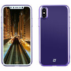 MOMAX Plating Wrapped Hard PC Case For Apple iPhone X Shockproof Back Cover