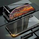 Case Magnet Apple IPHONE XS Max Protective Case Glass Phone Case Curb Case Cover