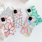 Case for iPhone 12 11 XR XS MAX 8 7 Plus ShockProof Marble Phone Cover Silicone