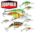 Rapala JOINTED SHAD RAP 4cm-9cm Suspending Lure Various Colours 5g-25g Bass Rap®