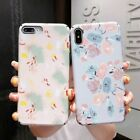 Luminous Flower Paniting Phone Case Hard PC Cover For iPhone X XS 8 7 6 6s Plus