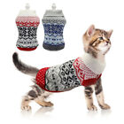 Dog Sweaters for Small Dogs Winter Puppy Cat Clothes Knitted Jumper Chihuahua