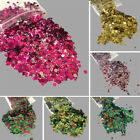15Colors Flake Chunky Glitter Pot for Face Body Nail Eye Shadow Festivals Tattoo