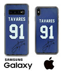 Toronto Maple Leafs John Tavares Samsung iPhone Jersey Case Facsimile Autograph $18.5 USD on eBay