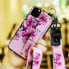 For iPhone 11 Pro / 11 Pro Max XS XR Diamond Nail Case Cover Hand Strap Holder