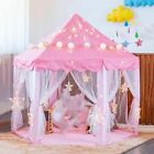 Portable Children's Tent Princess For Kids Girl's Castle Playhouse Outdoor Garde