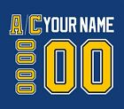 St. Louis Blues Customized Number Kit for 1998-2014 Blue Jersey $34.99 USD on eBay