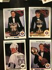 Wayne Gretzky and Brett Hull 1991 Upper Deck Hockey Cards plus 100 more