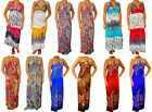 Lot New Multicolor Women Party Cocktail Sexy sleeve Maxi Summer Long Dress S M L