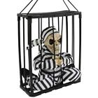 Halloween Ghost Festival Haunted House Rocky Horror Prop Prison Cage Soundi T7B0