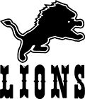 "Detroit Lions NFL Decal ""Sticker"" for Car or Truck or Laptop $10.99 USD on eBay"