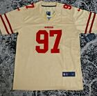 Nick Bosa Jersey #97 San Francisco 49ers Gold Med L XL XXL New SHIPS FROM USA $43.99 USD on eBay