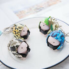 Cute Squishy Ding Ding With Helmet Keychain Novelty adults anti-stress Toy