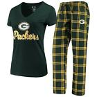 Green Bay Packers Pajamas Troupe Shirt And Pants Sleepwear 2-Piece Set $44.95 USD on eBay
