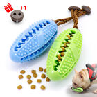 Aggressive Chew Toy Indestructible Rubber Leakage Food Dispenser Ball Toothbrush