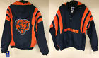 Chicago Bears Starter NFL Retro Authentic Pullover Zip Jacket Throwback $109.99 USD on eBay