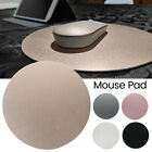 Round Aluminum Alloy Mouse Pad Gaming Mat Mousepad for Laptop Notebook Computer
