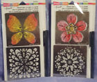 Stampendous Stencil Duo with Pen  Cards: Butterfly: comb ship