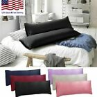 1 Pack Body Pillow Case Soft Microfiber Long Bedding Long Body Pillow Covers image