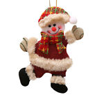 CHRISTMAS SANTA CLAUS DOLL TOY SNOWMAN HANG ORNAMENTD TREE GIFT HOME DECORATIONS