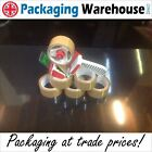 "Parcel Tape 48mm & 25mm Clear Buff Brown Fragile 2"" Packaging Carton Dispensers"