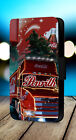 Coca Cola Truck Christmas Santa Claus Winter Xmas Phone Cover Leather Flip Case £8.99  on eBay