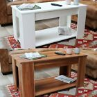 Extendable Lift Top Coffee Table With Storage Compartment And Shelf Wido