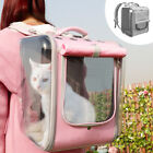 Foldable Dog Cat Carriers Portable Backpack Bag Small Puppy Mesh Travel Tote Bag