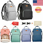 Multi Function Diaper Bag Backpack Waterproof Nappy Changing Bags For Mom & Dad