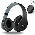 Bluetooth Headphones Over-Ear, Foldable Wireless and Wired Stereo Zihnic Headset