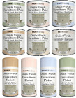 Chalky Finish Furniture Paint Wax/Lacquer Matt Finish, Antique White,Pink,Cream