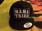 MAMA TRIED TRUCKER HAT merle haggard song outlaw country music biker