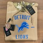 Authentic Nike Detroit Lions 2019 Mens NFL Salute to Service Tan Therma Hoodie $129.99 USD on eBay